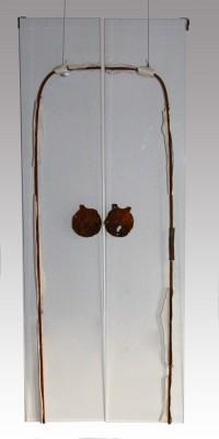 Cultureel Erfgoed Plexiglas/ijzer/porselein